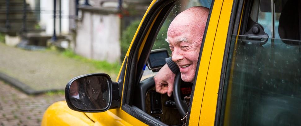Het oude Amsterdam van taxichauffeur Joop van Dam
