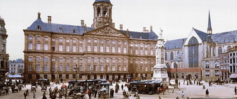 Wow! Speciale kleurenbeelden van Amsterdam rond 1900