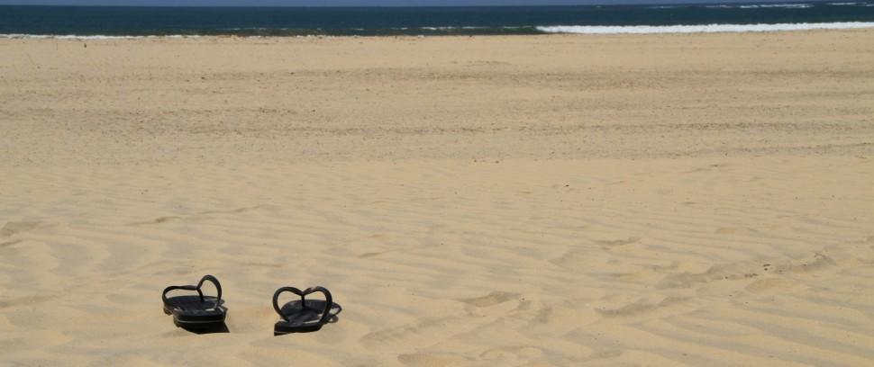 Strand Route: Relaxen in het zand