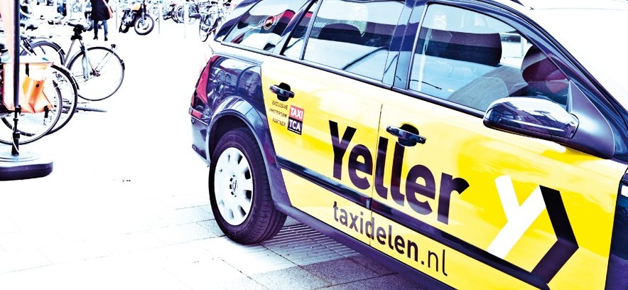 Taxi's voor bijna de helft van de prijs