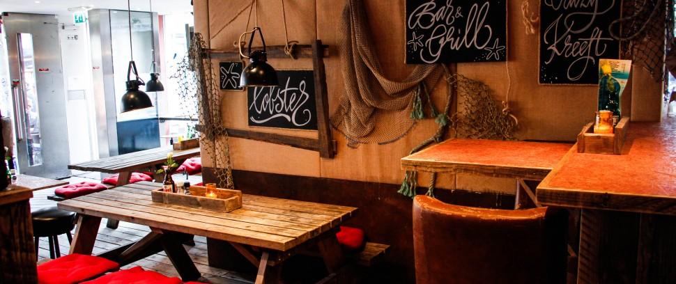 Pop up-restaurant Crazy Kreeft: Heerlijke kreeft op een zonnig terras in de Pijp