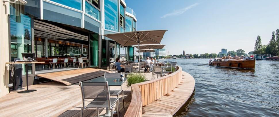 De 6 beste terrassen aan het water