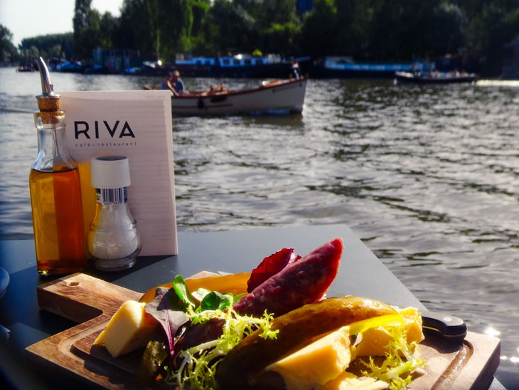 dineren op het water amsterdam