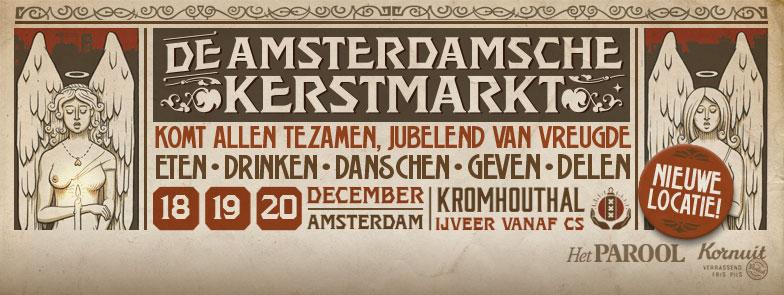 Weekendtip: De Amsterdamsche Kerstmarkt
