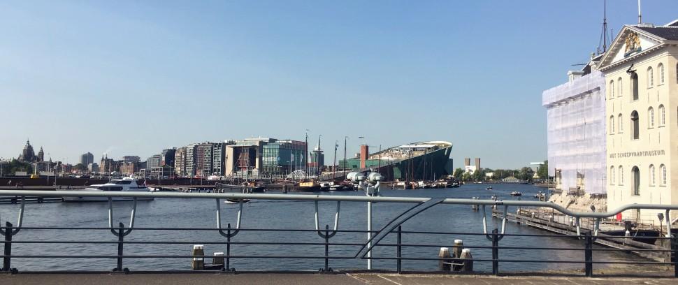 Het mooiste plekje van Amsterdam: Scheepvaartmuseum